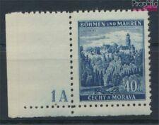Bohemen en Moravië 25 met Nummerplaat postfris MNH 1939 Klingenberg (9310258