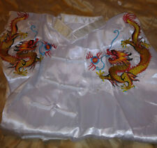 New Colorful Dragon Martial Arts Uniform size Lg. Pants and Belt included