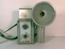 Vintage Spartus Six Twenty Camera + Flash Attachment
