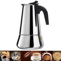 Moka haut fourneau inox cafetière Espresso italien cafetière électrique outil FR