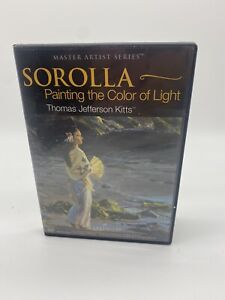 Thomas Jefferson Kitts: SOROLLA-Painting The Color Of Light - ART DVD