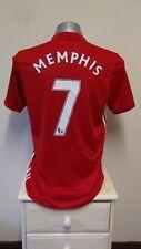 Manchester United Home Football Shirt Jersey 2016-2017 MEMPHIS 7 Medium