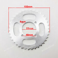 420 37 Tooth Rear Chain Sprocket For Chinese ATV Quad Pit Dirt Bike Taotao Sunl