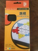 Travel Game Chinese Checkers 跳棋 Magnetic Board 2-3 Players