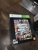 Grand Theft Auto 5 GTA V COLLECTOR'S EDITION (Xbox 360) Hat Bag Used