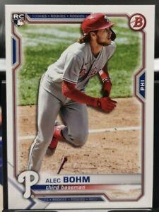2021 Bowman Alec Bohm - Phillies 2 RC