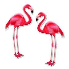 Flamingo Art Decal Sticker Choose Color Size #863