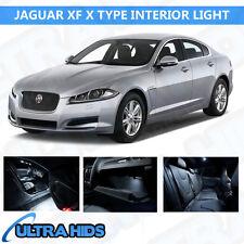 Jaguar XF X tipo 5 Piezas Blanco Interior Upgrade Kit de Luz LED SMD libre de errores