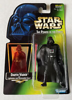 NEW Star Wars POTF Darth Vader with Lightsaber and Removable Cape Kenner 1997