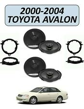 Fits TOYOTA AVALON 2000-2004 Factory Speaker Replacement Combo, PIONEER