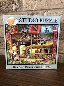 Studio Puzzle BEST DAYS OF SUMMER 500 Pc Jigsaw Puzzle Bits and Pieces *NEW*