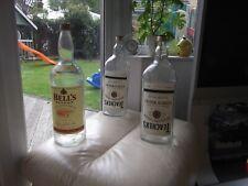 More details for large vintage whisky bottle - teacher's highland cream   4.5 litre