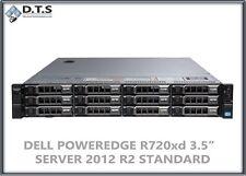 Dell PowerEdge R720xd 2x E5-2650 2.00Ghz 16cores 24TB Windows Server 2012 R2 std