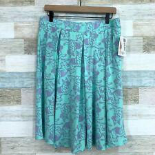 LuLaRoe Madison German Shepherd Dog Skirt Green Pockets NWT Rare Womens XL