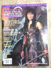1998 XENA Warrior Princess Official Magazine #1- First Issue- UNREAD-FREE S&H