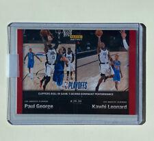 Kawhi Leonard + Paul George - PLAYOFFS - 2019-20 Panini Instant #172 - 1 of 60
