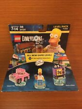 Lego Dimensions The Simpsons Level Pack 71202!Homer's Car Homer Taunt-o-Vision!!