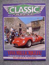 Classic & Sports Car (July 1986) Lamborghini Urraco, Silhouette, Jalpa, Elan +2
