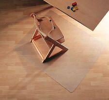 Piastra protettiva sottoscrivania 90x120cm per pavimenti in laminato, parquet...