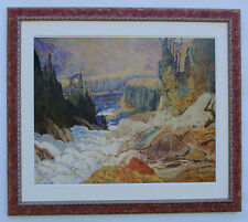 J.E.H. MacDonald, Group of Seven (Falls, Montreal River) Large Print