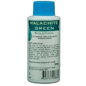 Aquasonic Malachite Green 100ml - Parasite & Fungal Treatment Freshwater/Marine