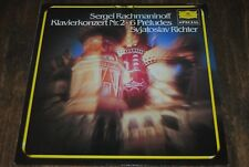 "LP VINYL DEUTSCHE GRAMMOPHON / RACHMANINOFF ""KLAVIERKONZERT N°2 - 6 PRELUDES"""