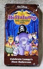 Walt Disney POOH'S HEFFALUMP HALLOWEEN MOVIE Vhs Video Tape 2005 Lump's First