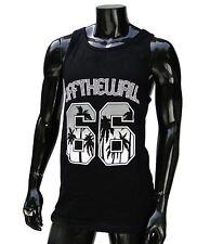 Vans skateboard Surfing HB 66 Palms Black Mens T shirt tank top Size Small