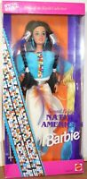 Mattel BARBIE Collector Doll-Special Edition-NATIVE AMERICAN 1993 Damaged Box