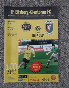 IF Elfsborg v Glentoran 2004/05 UEFA Cup 2nd Qualifying Round 2nd Leg