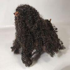Barbie Glam N Groom Pets Keely Brown Black Long Hair Dog Christie 1999 Mattel