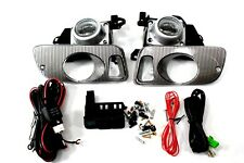 92-95 Honda Civic 2/3 Door EJ EG Coupe Clear Fog Light Kit + Harness + Switch Si