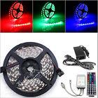 5M 5050 RGB 300LED SMD lamp Light Strip+44 Key IR Controller+12V 5A Power Supply