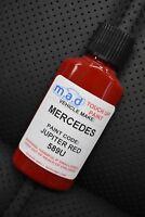 MERCEDES BENZ JUPITER RED 589U TOUCH UP KIT BOTTLE BRUSH REPAIR PAINT CHIP 589