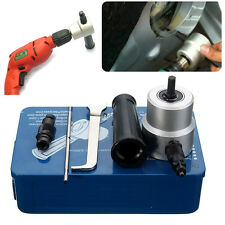 Double Head Sheet Metal Nibbler Cutter Holder Tool Power Drill Attachment Kits