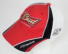 Kasey Kahne #9 BUDWEISER Nascar Auto Racing Cap Hat Stock Car OSFM