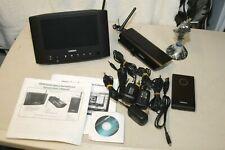 Uniden Udw20055 Video Camera Security Surveillance System w/Monitor & 2 Cameras
