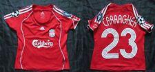Jamie CARRAGHER #23 FC LIVERPOOL Champions League shirt ADIDAS WOMEN Ladies M/12