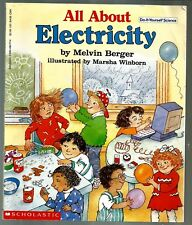 All about Electricity : A Do-It-Yourself Science Book by Melvin Berger 1995,