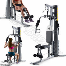 GYM SYSTEM STRENGTH Training Workout Equipment Home Weight Lift Exercise Machine