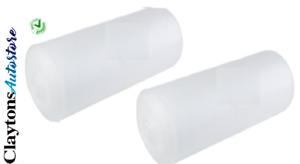 X2 FOAM Underlay Packaging Wrapping Carpet Laminate/Wood white 3mm x 1m x  25m