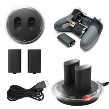 2x Rechargeable Battery + Charging Dock Station for XBOX ONE ELITE Controller