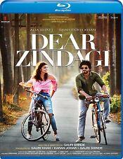 DEAR ZINDAGI (2016) SHAHRUKH KHAN, ALIA BHATT) - BOLLYWOOD BLU-RAY