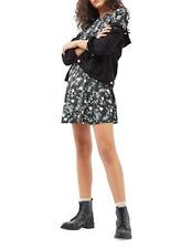 TOPSHOP Blossom Frill Dress Size Uk 4 Rrp £36 Box27 11 O