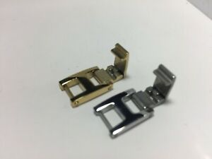 watch band extender ,stainless steel , 3mm to 16mm gold color and steel