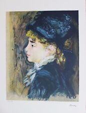 Pierre Auguste Renoir Lithograph Hand Numbered Limited Edition Marie-Luise