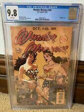 Wonder Woman #184 Adam Hughes Vintage Cover Variant Comic CGC 9.8 DC White Pages