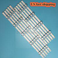 """1kit/10pcs LED Strip Bar For LG 50"""" TV INNOTEK DRT 3.0 50"""" A B 50LF5610 50LB6500"""