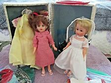 ca51cf422d830 VINTAGE 1950's BABY BOOMER UNEEDA DOLLS 1 BLOND & 1 REDHEAD W/LOTS OF  CLOTHES