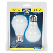 Camco 54894 A-19 50W/12V Home Replacement Light Bulb - Pack of 2